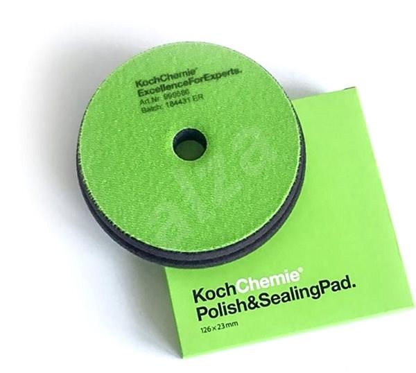 KochChemie POLISH & SEALING 150x23 mm zelený - Lešticí kotouč