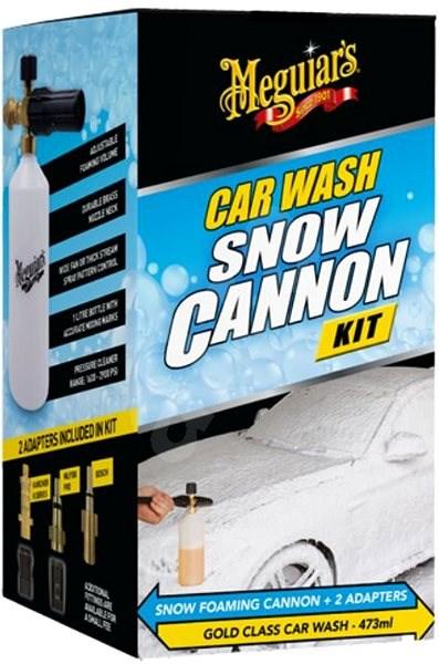 Meguiar's Car Wash Snow Cannon Kit - Foam and Car Shampoo Kit Meguiar's Gold Class, 473 ml - Car Cosmetics Set