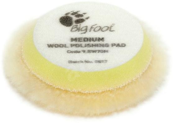 RUPES Yellow Wool Polishing Pad MEDIUM - sada 4 ks - Leštící kotouč