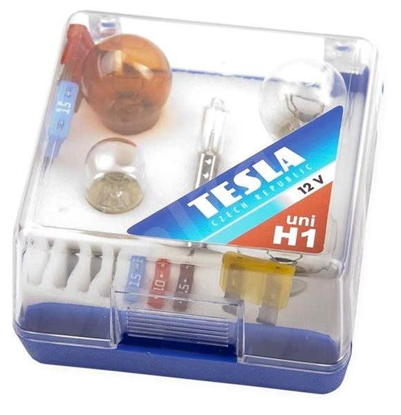 TESLA náhradní sada H1/12V - Autožárovka
