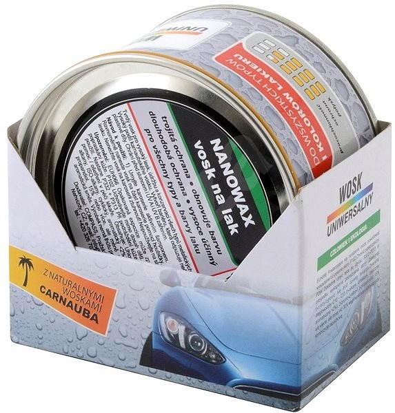 COMPASS NANOWAX vosk na lak NANO 250gr - Vosk na auto