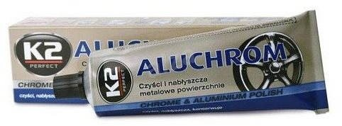 K2 ALUCHROM 120 g - pasta na čištění a leštění kovových povrchů - Přípravek