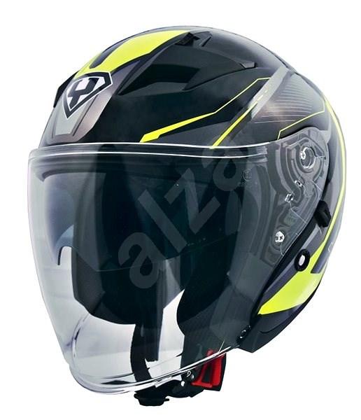 Yohe 878-1, Fluo vel.XL - Helma na motorku