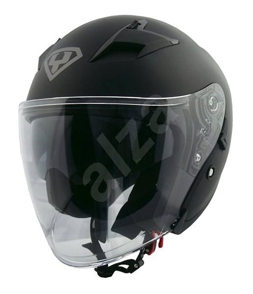 Yohe 878-1, Matte Black vel.S - Helma na motorku