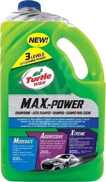 Turtle Wax MAX POWER Shampoo 2.95l - Car Wash Soap