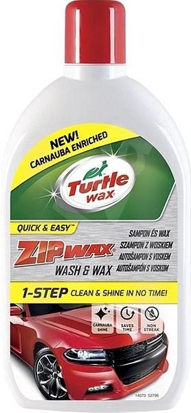 Turtle Wax ZIP WAX Car Shampoo with Wax 500ml + 100% free - Car Wash Soap
