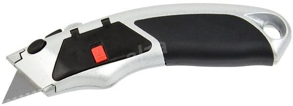 GEKO Nůž kovový s výměnným břitem, 4ks náhradních břitů - Nůž