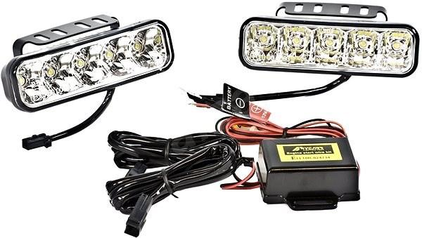 ACI přídavná světla LED pro denní sv. (12 V / 24 V) 147x59,5x56 mm sada - Světlo pro denní svícení