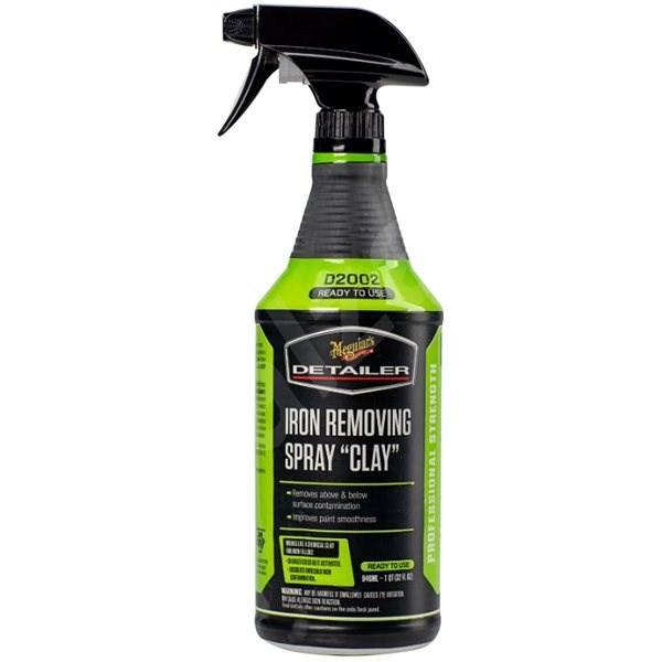 "Meguiar's Iron Removing Spray ""Clay"" 946ml - Sada autokosmetiky"