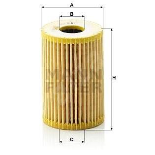 MANN-FILTER HU610x pro vozy MERCEDES-BENZ - Olejový filtr
