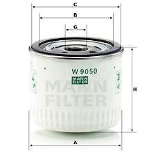 MANN-FILTER W9050 pro vozy FORD;LDV;METROCAB - Olejový filtr