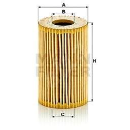 MANN-FILTER HU7008z pro vozy AUDI;SEAT;SKODA;VW - Olejový filtr