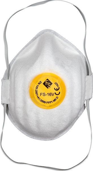 Vorel Maska protiprašná typ CDC3V s ventilem  sada 5ks TO-74541 - Ochranná maska