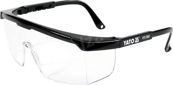 Ochranné brýle YATO čiré typ 9844