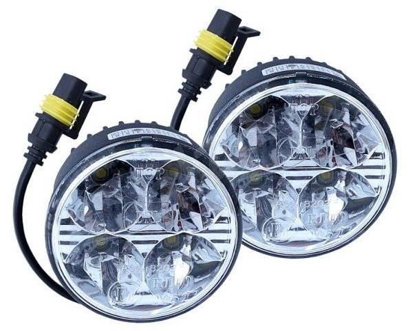 COMPASS Světla svícení 4 HIGH POWER LED - Světlo pro denní svícení