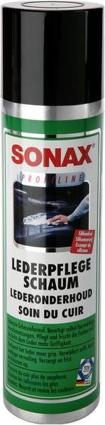 SONAX Leather Cleansing Foam, 400ml - Car Upholstery Cleaner