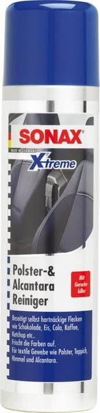 SONAX Xtreme Foam Upholstery and Alcantara Cleaner, 400ml - Car Upholstery Cleaner