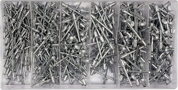YATO Nýt hliníkový sada 400ks  - Trhací nýty