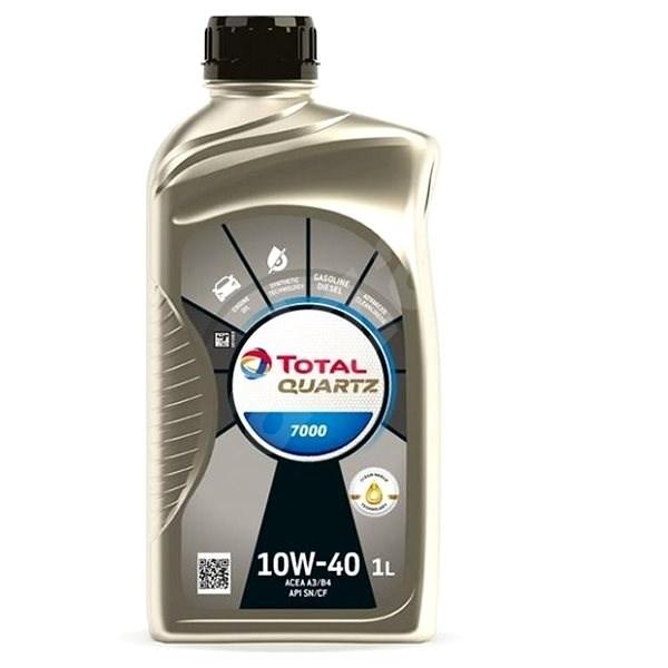 TOTAL QUARTZ 7000 10W40 1l - Motorový olej