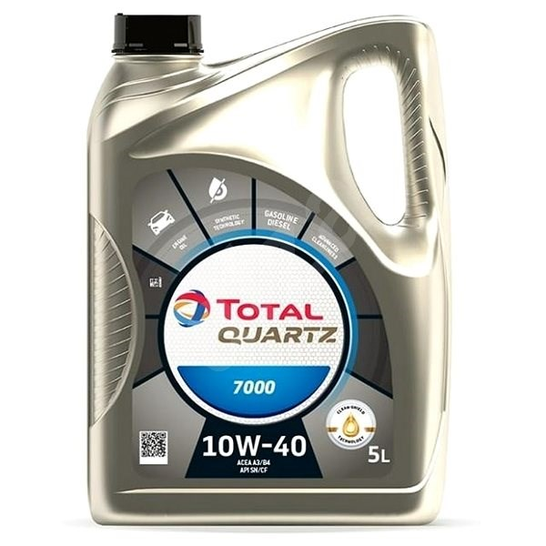 TOTAL QUARTZ 7000 10W40 5l - Motor Oil