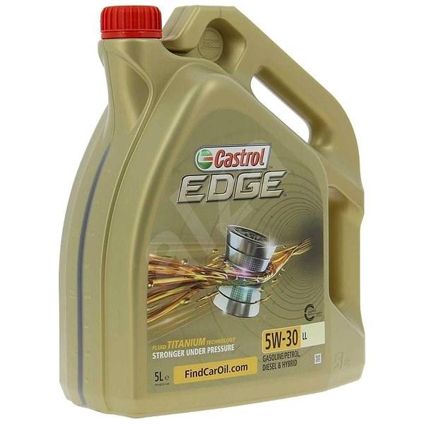 0ab644b694 CASTROL EDGE 5W-30 LL TITANIUM FST 5l - Motorový olej
