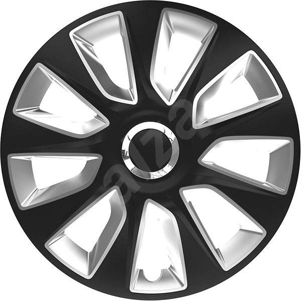 "VERSACO Stratos RC black/silver 14"" - Poklice na kola"