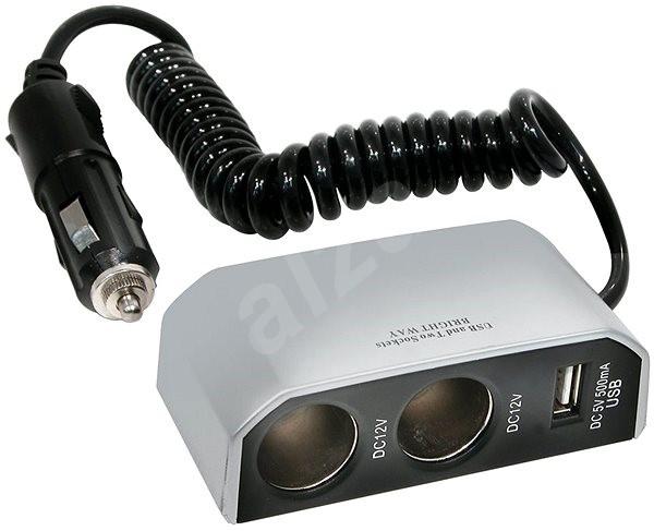 CARPOINT 12V - s USB přípojkou - Autoadaptér