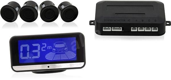 Parkovací asistent 4 senzory, LCD display - Parkovací asistent