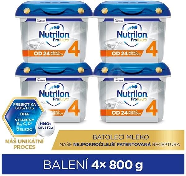 Nutrilon 4 Profutura batolecí mléko 24+ 4× 800 g - Kojenecké mléko