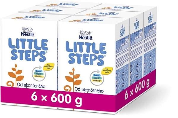 LITTLE STEPS 2 pokračovací mléko 6m+  6× 600 g - Kojenecké mléko