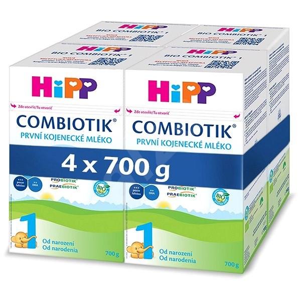 HiPP 1 BIO Combiotik 4× 700 g - Kojenecké mléko