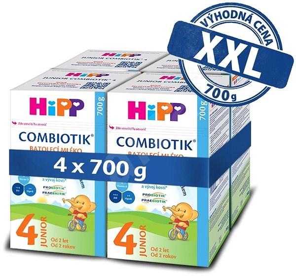HiPP 4 Junior Combiotik 4× 700 g - Kojenecké mléko