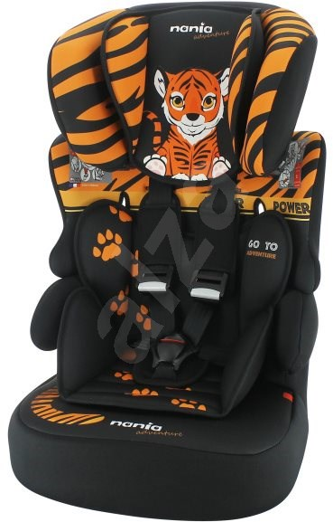 NANIA Animals BeLine SP 9–36 kg Tiger 2020 - Autosedačka