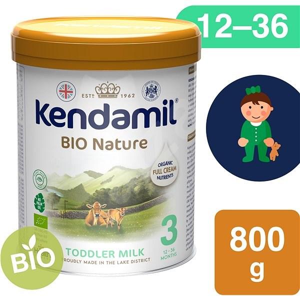 Kendamil batolecí BIO mléko 3 DHA+  (800 g) - Kojenecké mléko