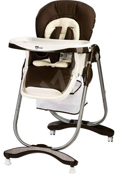 Gmini Mambo - tmavě hnědá - Jídelní židlička  5ee3a02a81
