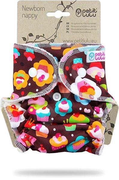 PETIT LULU  Novorozenecká plenka - dortíčky - Plenkové kalhotky