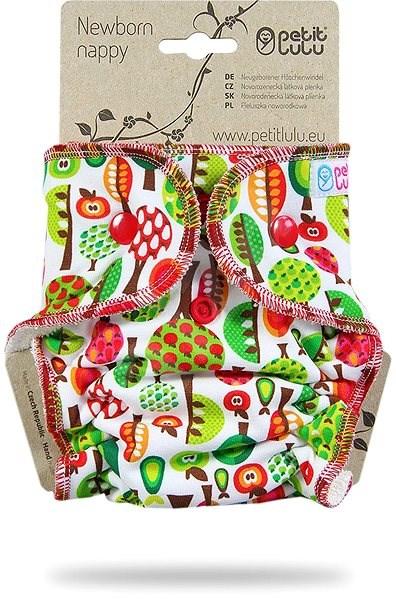 PETIT LULU  Novorozenecká plenka - ovocný sad - Plenkové kalhotky