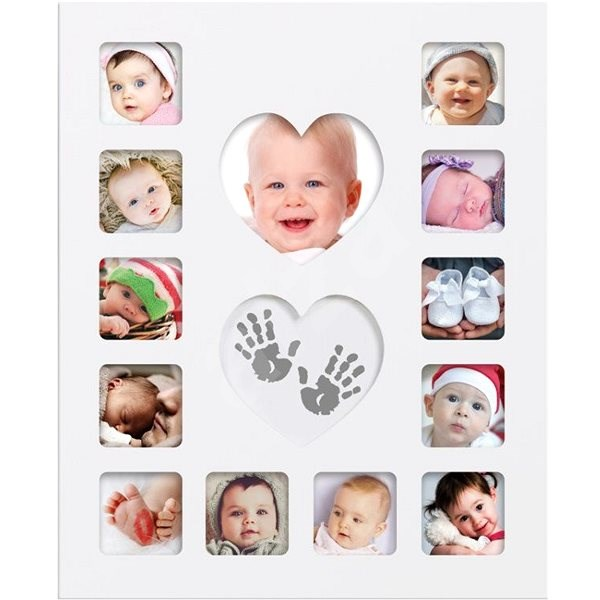 Happy Hands Baby First Year Kit - Sada na otisky