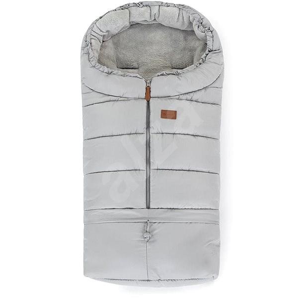 Petite&Mars Jibot 3v1 Steel Grey - Fusak do kočárku