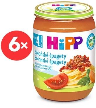 HiPP BIO Špagety v boloňské omáčce - 6× 190 g - Příkrm