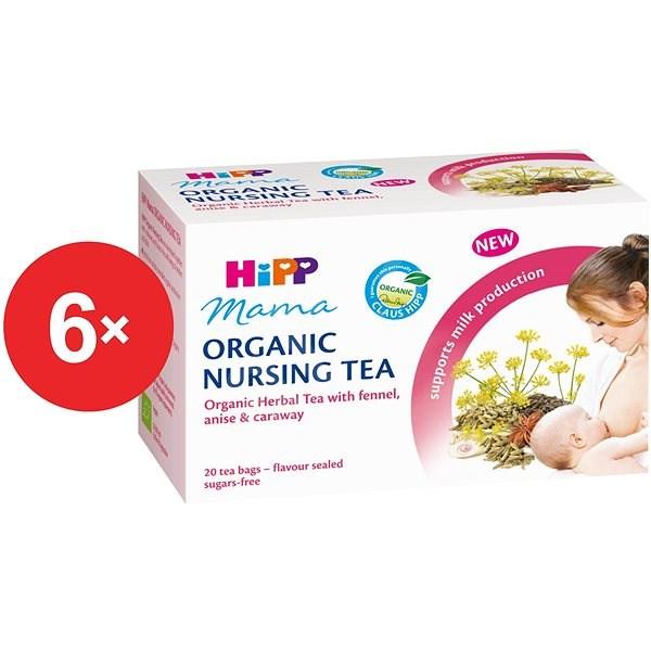 HiPP Mama BIO Čaj pro kojící matky - 6× 30 g - Kojící čaj