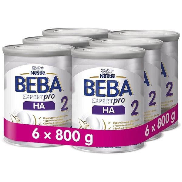 BEBA OPTIPRO HA 2 (6× 800 g) - Kojenecké mléko