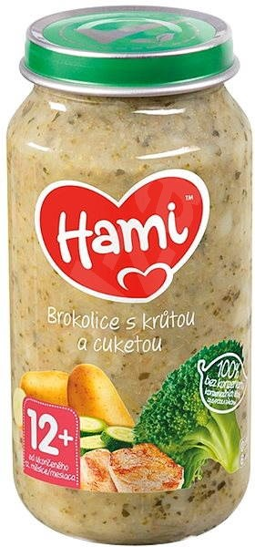 Hami Příkrm brokolice s krůtou a cuketou 250 g - Dětský příkrm