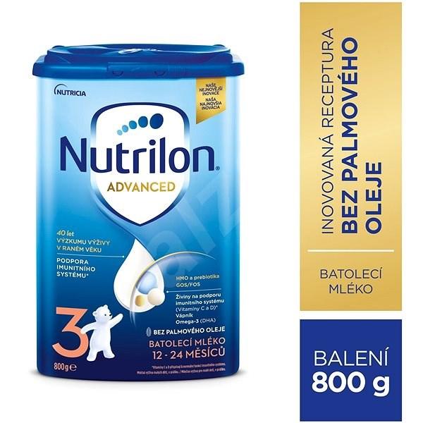Nutrilon 3 batolecí mléko 800 g - Kojenecké mléko