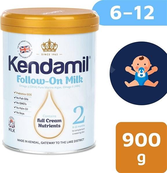 Kendamil pokračovací mléko 2, 900 g - Kojenecké mléko