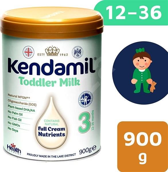 Kendamil batolecí mléko 3, 900 g - Kojenecké mléko