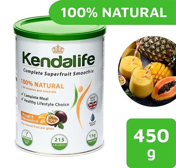 Kendalife Mango Passion fruit koktejl 450 g - Nápoj