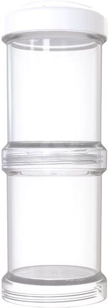 TWISTSHAKE 2x Zásobník 100 ml - bílá - Dóza
