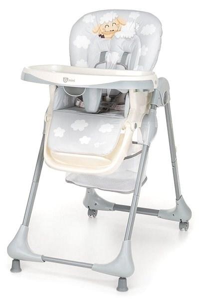 Gmini Melisa Ovečka cool grey - Jídelní židlička