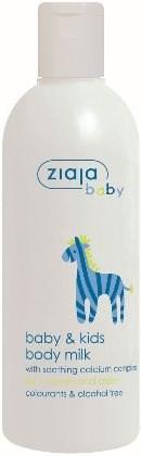 ZIAJA Baby Tělové mléko Zebra 300 ml - Dětské tělové mléko